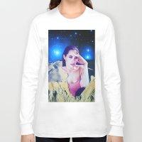 angelina jolie Long Sleeve T-shirts featuring Angelina Jolie by John Turck