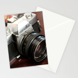 Vintage Minolta Camera Stationery Cards