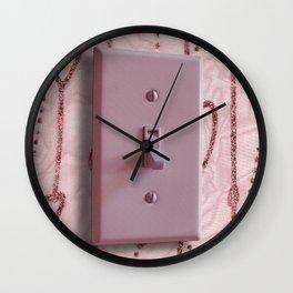 Turn on My Heart Wall Clock