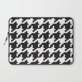 Houndstooth - Black & White Laptop Sleeve