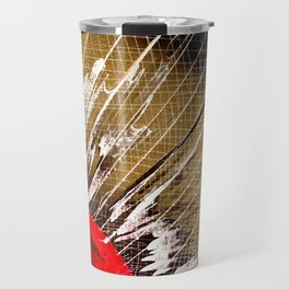Badminton Birdie Travel Mug