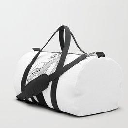 Serpent Skin Duffle Bag