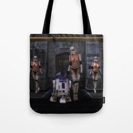 Sexy Sci-Fi Tote Bag