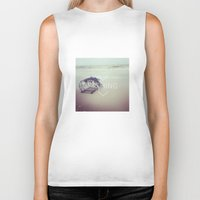 fishing Biker Tanks featuring FISHING by Kath Korth