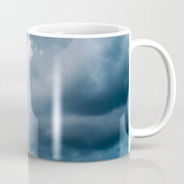 Rain Storm Clouds Gathering On Sky, Stormy Sky, Infinity Coffee Mug