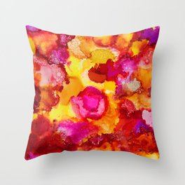 Under the Microscope No.2 Throw Pillow