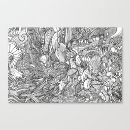Wild Ideas Canvas Print