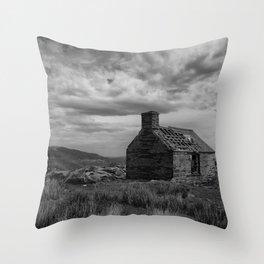 The Forgotten Cottage Throw Pillow