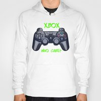 xbox Hoodies featuring Ps vs xbox by BAS~
