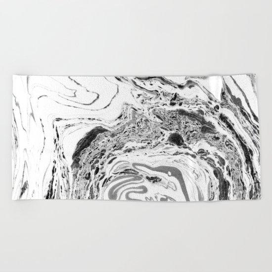 marble II #texture Beach Towel