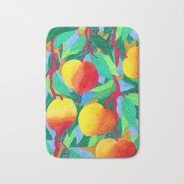 summer peaches Bath Mat