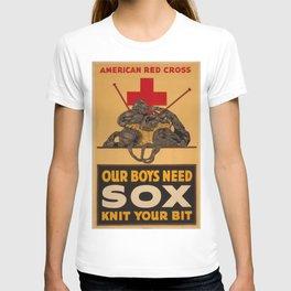 Vintage poster - Knit Your Bit T-shirt