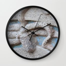 Concrete Octopus  Wall Clock