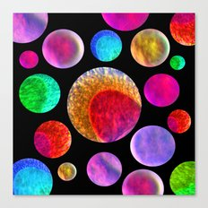 My Happy Solar System Canvas Print