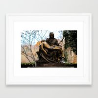 religious Framed Art Prints featuring Religious by Nevermind the Camera