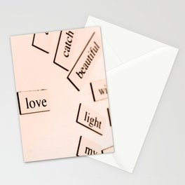 Love (Un)Defined Stationery Cards