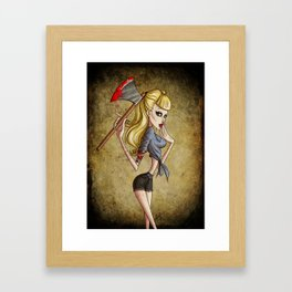 Ups! Framed Art Print