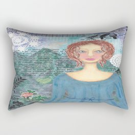 Boudicca, Warrior Queen of the Iceni Rectangular Pillow