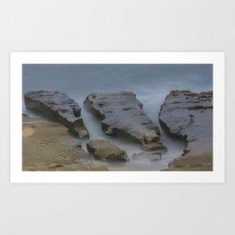 Rock and Sea Art Print