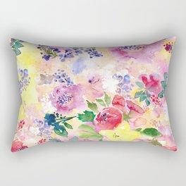 Floral Floral Rectangular Pillow