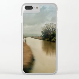 American River Clear iPhone Case