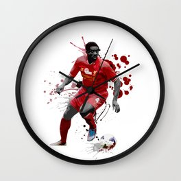 Kolo Toure Wall Clock