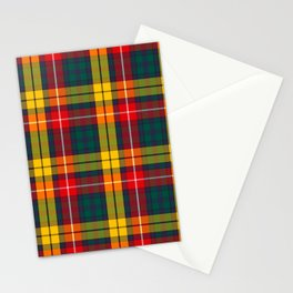 Buchanan Scottish Tartan Stationery Cards