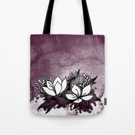 Flower Tangle Tote Bag