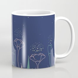 Night Flower Coffee Mug