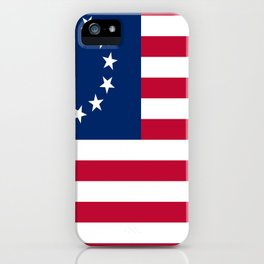 Historical flag of the USA: Betsy ross iPhone Case