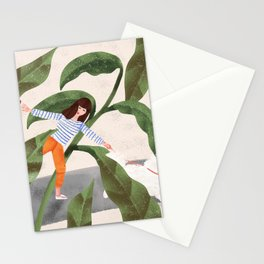 Going On A Walk Stationery Cards