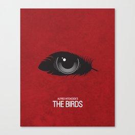 The Birds Movie Poster Canvas Print