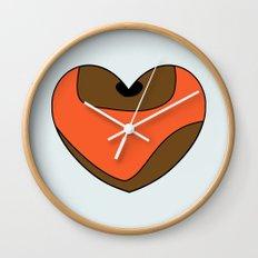 Wicket Character Heart Wall Clock