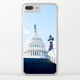 Our Nations Capitol Clear iPhone Case