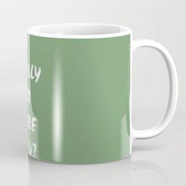 I Care! Coffee Mug