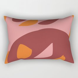 Two little monsters graphic design characters Rectangular Pillow