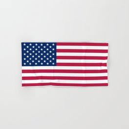 Flag of USA - American flag, flag of america, america, the stars and stripes,us, united states Hand & Bath Towel