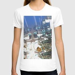 Clock Temple of technology T-shirt
