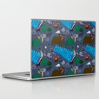 camping Laptop & iPad Skins featuring Camping by Chris Piascik