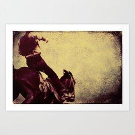Buckaroo Art Print