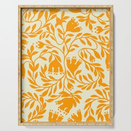 Impression indienne yellow sun. Serving Tray
