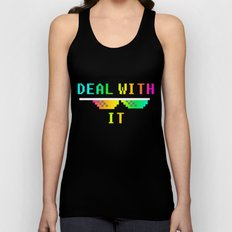 Deal With It Unisex Tank Top