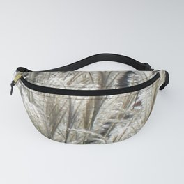 Silver Grass Plumes Fanny Pack