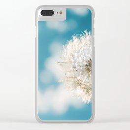 Flower - Taraxacum Officinale Clear iPhone Case