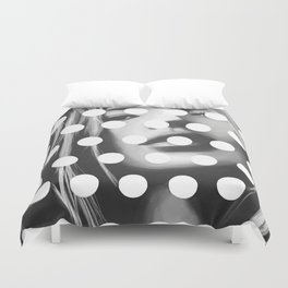 Kate Moss x Dots by Moe Notsu Duvet Cover