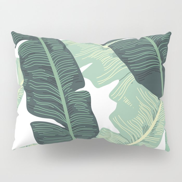 BANANA LEAVES 2 Pillow Sham