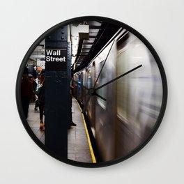 Wallstreet Subway Wall Clock