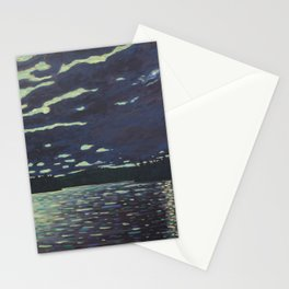 Moonlight – McIntosh Lake, Algonquin Park Stationery Cards