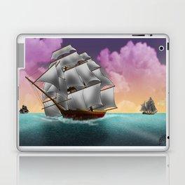 Rigged Ships Laptop & iPad Skin
