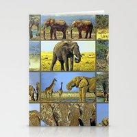wildlife Stationery Cards featuring Wildlife by Karl-Heinz Lüpke